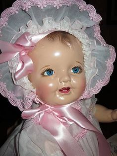 1939 Effanbee Sweety Pie Baby Doll Extra Clothes Display Box