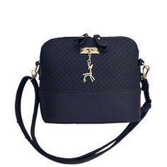 2017 Women Messenger Bags Fashion Mini Bag With Deer Toy Shell Shape Bag Women Shoulder Bags