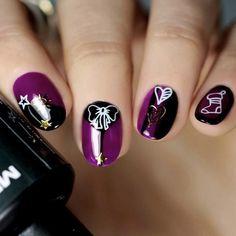 Christmas Stickers, Christmas Nail Art, Holiday Nails, Dry Nail Polish, Dry Nails, Nail Hardener, Nail Designs Pictures, Nail Decorations