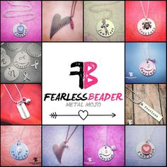 Give your Fearless friend/s a shot of encouragement! See all my styles of Fearless Necklaces and celebrate the brave, bold adventurous peeps in your life! ❤  https://www.etsy.com/shop/TheFearlessBeader?section_id=11482120&ref=shopsection_leftnav_1