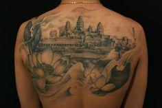 Seven Eight Tattoo - angkor wat tattoo- Toronto tattoo- by Lemur