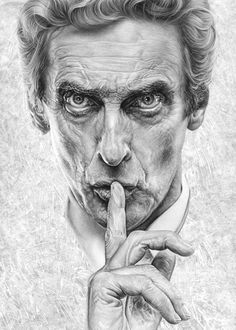 Peter Capaldi as the 12th Doctor - Doctor Who - Listen by caldwellart.deviantart.com on @DeviantArt