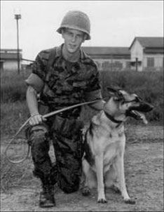 Alan Driscoll served as a an Air Force dog handler in Vietnam and he says the dogs that serve in wars deserve appreciation. Vietnam War Photos, Vietnam Vets, Military Working Dogs, Military Dogs, Gulf Of Tonkin Incident, Native American Symbols, Bravest Warriors, War Dogs, United States Army
