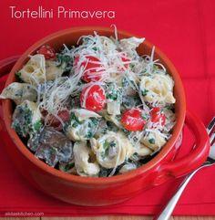 Pasta Recipes : Tortellini Primavera #WeekdaySupper