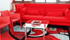 Beautiful Red Living Room Furniture » Picture 3073