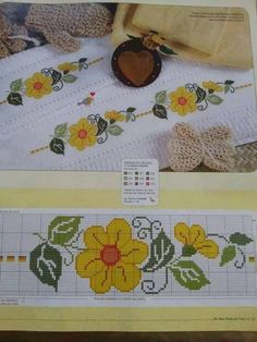 Cross Stitch Cards, Cross Stitch Borders, Cross Stitch Rose, Cross Stitch Flowers, Counted Cross Stitch Patterns, Cross Stitch Designs, Cross Stitching, Cross Stitch Embroidery, Broderie Simple