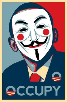 """""""Occupy Wall Street"""" The Anonymous"""