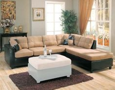 Bobs Brown Sectional And Discount Furniture On Pinterest