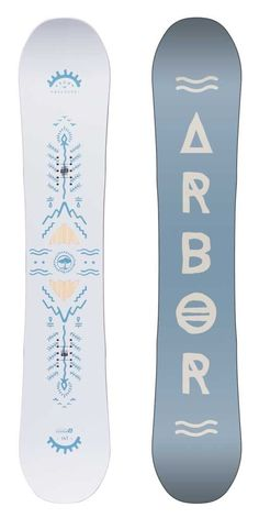 Poparazzi 147 Snowboard for women by Arbor