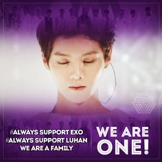 It makes me sad to think that another member of exo is leaving,  but I will always support them and love them with all my heart. I will forever love all the members of exo, former and current.  #AlwaysSuportExo #AlwaysSuportLuhan #AlwaysSuportKris