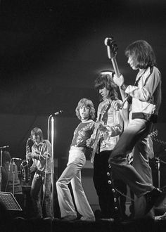 """ The Rolling Stones Bobby Keys, Mick Jagger, Keith Richards, Bill Wyman at Frankfurt Festhalle "" I uploaded a new scan with more detail. Rolling Stones Concert, Keith Richards, Mick Jagger, Rock N Roll, Bobby, Keys, Instagram Posts, Musicians, Icons"