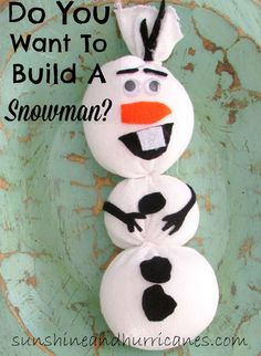 Do You Want To Build A Snowman? - Sunshine and Hurricanes