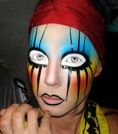 Wow!  Makeup!