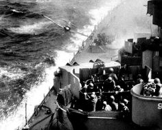 Kamikaze about to hit USS Missouri.