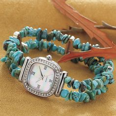 Turquoise Watch .... coming soon on www.blissunique.com
