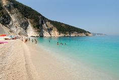 Mirtos Beach, Cephalonia, Greece