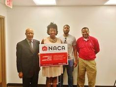 """Meet Ms. Parker, new #Memphis homeowner with a 3% rate! """"I am truly thankful for the NACA team and process. Owning a home has been a dream of mine since I was a child, and through NACA, one of my life dreams has become a reality. Thank you again Memphis team for your help through the process."""" #AmericanDream #NACAPurchase"""