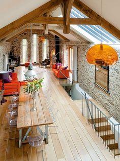 Big Barn Devon / nowoczesna STODOŁA – nowoczesna STODOŁA | wnętrza & DESIGN…