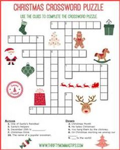Christmas Puzzles - Bing images