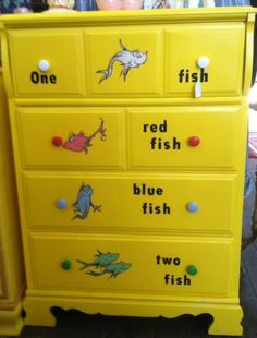 dr. seuss furniture | Dr Seuss Chest of drawers - Sold