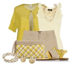 """""""Nina Ricci Woven Clutch with Shorts"""" by cathy0402 ❤ liked on Polyvore featuring Yes We Dress by Scaglione, Rosemunde, A.P.C., Nina Ricci, ALDO, Alexa Starr, Ralph Lauren and Michael Kors"""