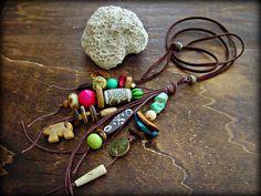 Boho Hippie Necklace  Boho Jewelry  Hippie by HandcraftedYoga, $36.00