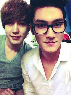 Kyuhyun and Siwon from Super Junior