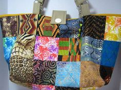 Tribal Yarn Holder Tote Bag by JDCreativeHands on Etsy