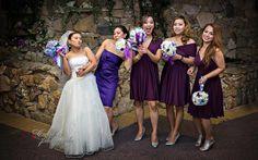 Regina Wedding Photographer -crazy wedding party girls being funny