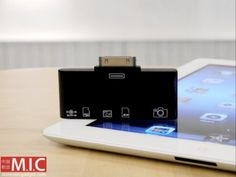 M.I.C. Gadget has introduced a new card reader for iPad
