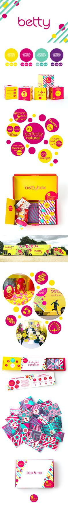 Straight Forward brand creation for Betty. Subscription and retail packing design, communications strategy and educational and brand experience bus. Emotional Development, Design Agency, Packaging Design, Parents, Daughter, Girls, Dads, Toddler Girls, Daughters