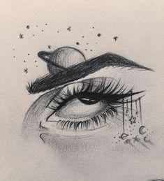 Anime Art Simple Drawing – Block to CoronaVirus! Tumblr Drawings, Cool Art Drawings, Pencil Art Drawings, Drawing Sketches, Drawing Eyes, Dragon Drawings, Pen Sketch, Drawings Of Eyes, Sketch Of An Eye