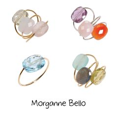morganne bello ♥ rings