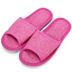 Open Toe FlatHome Slippers - Gchoic.com