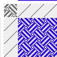 draft image: Figure 254, A Manual of Weave Construction, Ivo Kastanek, 16S, 16T