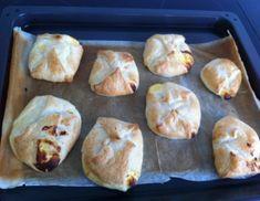 Schnelle Topfentascherl Dairy, Bread, Cheese, Chicken, Food, Matcha Whisk, Sugar, Eggs, Chef Recipes