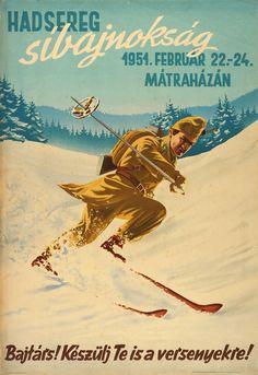 Készülj Te is a versenyekre! Illustrations And Posters, Eastern Europe, Horse Racing, Hungary, Vintage Posters, Wwii, Postcards, Folk, Boards