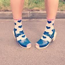 Afbeeldingsresultaat voor lotta clogs socks