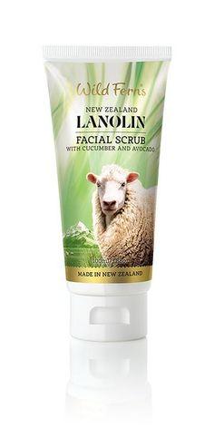 Lanolin Facial Scrub with Cucumber and Avocado http://beautifulclearskin.net/arabica-coffee-scrub-from-majestic/