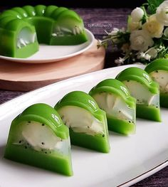 Cold Desserts, Pudding Desserts, Asian Desserts, Asian Recipes, Puding Oreo, Puding Cake, Jello Recipes, Dessert Recipes, Resep Pastry