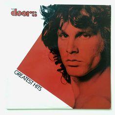 TheThe Doors - Greatest Hits LP Vinyl Record Album, Elektra - 5E 515, Blues Rock, Classic Rock, 1980, Original Pressing