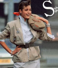 yasmin le bon Elle 27 May 1985