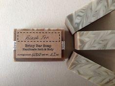 Black Tea handmade soap by Briny Bar Soap on Etsy, $5.00