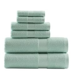 Tommy Bahama Bedding Canopy Way Cypress Bay 6 Piece Towel Set Color: Iced Turquoise