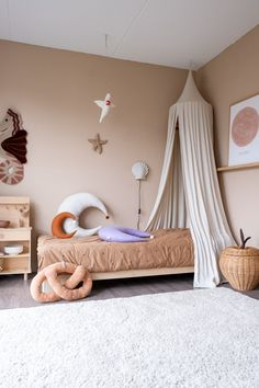 Ikea Girls Room, Small Girls Bedrooms, Little Girl Bedrooms, Kids Bedroom, Nursery Room, Baby Room, Creative Kids Rooms, Fashion Room, Kid Spaces