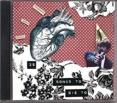 Get a label maker involved. | 16 Cool Ideas For Homemade Mix CD Artwork