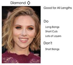 Do's and Don'ts for diamond face shapes