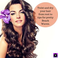 No more parlours for Beach Waves any more! Follow this simple DIY tip and you are all set to go. #beachwaves, #DIY, #twistanddry, #prettyhair