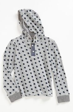 Sovereign Code Henley Hoodie (Toddler Boys) available at #Nordstrom --For my fly Guy toddler <3