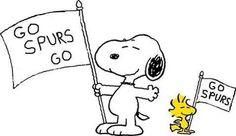 Snoopy-GoSpurs Go